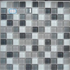 Mix Color 30X30 Crystal Glass Mosaic Color Tile for Stores pictures & photos