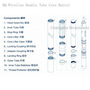 Hq Wireline Double Tube Core Barrel pictures & photos