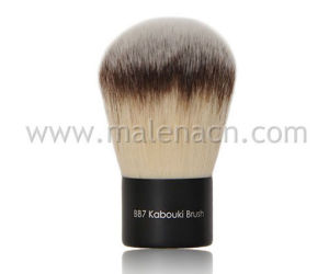 Synthetic Hair Kabuki Powder Cosmetic Brush pictures & photos