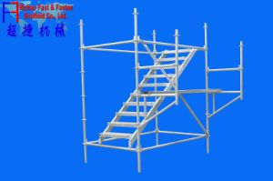 Q345 Steel Galvanized System Scaffold Ringlock Scaffolding (FF-B004G) pictures & photos