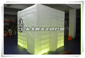 Cubic Shape LED Lighting Photo Booth Wholesale Price