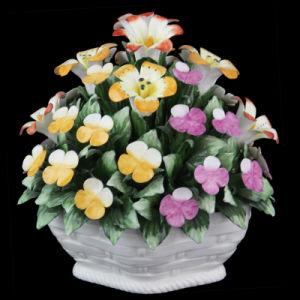 Handmade Ceramic Flowers (YH8064 SIZE: 17X18CM)
