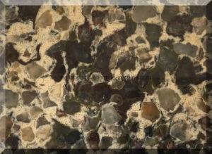 Double & Multiple Colors Quartz Stone Slab pictures & photos