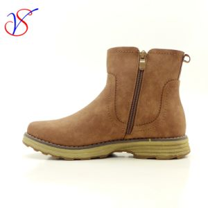 Three Color Men Women Safety Working Work Boots Shoes Sv-Wk 002-Coffee pictures & photos
