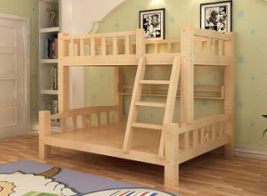 Solid Wooden Bed Room Bunk Beds Children Bunk Bed (M-X2203) pictures & photos