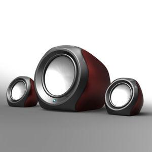 Mini Subwoofer 2.1 Speaker