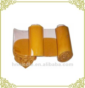 Traditional Roof Material Yellow Ceramic Roofing Tiles for Chinese Gardens and Temple