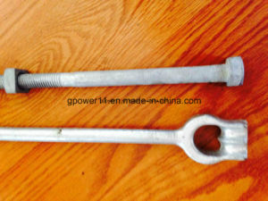 Suspension Line Fitting Twineye Anchor Rod pictures & photos