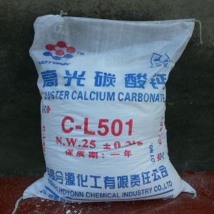 Industrial Grade Calcium Carbonate Powder for Plastics