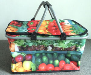 Vegetable Fruit Printing Cooler Bag pictures & photos