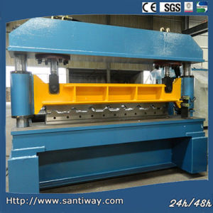 Color Glazed Steel Tile Roll Forming Machine pictures & photos