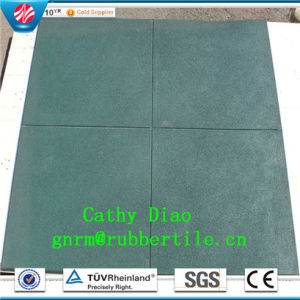 China Factory Supply Rubber Tile/Rubber Floor Tile/Anti-Slip Floor Tile/Gym Rubber Flooring Tile/Wearing-Resistant Rubber  Interlocking Rubber Tiles pictures & photos