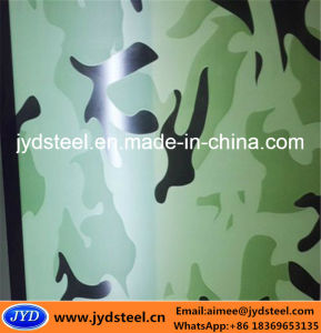 Camouflage PPGI Steel Coil pictures & photos