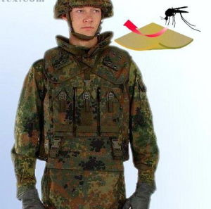 Anti Mosquito Military Uniform Fabric pictures & photos