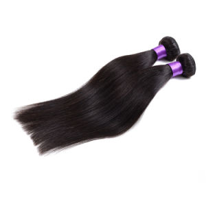 Xuchang Professional Manufacturer Supply Virgin Brazilian Human Straight Hair Extensions pictures & photos