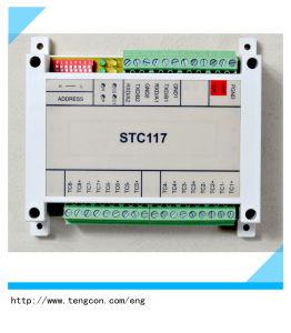 8thermocouples Input Tengcon Stc-117 Modbus RTU I/O Module pictures & photos