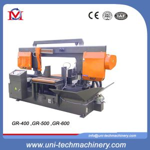 Horizontal Swivel Angle Double Column Band Sawing Machine (GR-330) pictures & photos