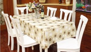 PEVA/PVC Waterproof Tablecloth pictures & photos