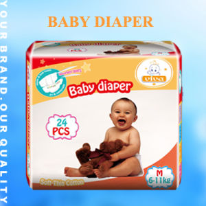 Factory Disposable Soft Baby Diaper in Bales (JH01) pictures & photos