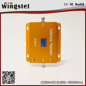 High Quality 3G 4G CDMA/Dcs Mobile Signal Booster with LCD pictures & photos