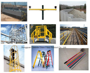 Multi-Function and Durable FRP Pultruded Profile, FRP Handrial, FRP Fence pictures & photos