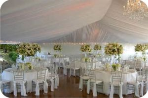 Fireproof Beautiful 20 Person Bell Tent Use in Party Wedding Event pictures & photos
