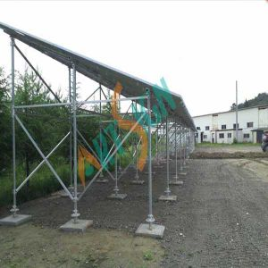 Solar Carport Mounting System for Packing Lot-Concrete Block pictures & photos