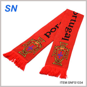 Hot Sale Promotional Football Club Scarf (SNFS1034) pictures & photos