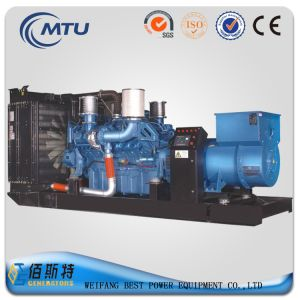 Mtu Benz 900kVA Portable Silent Diesel Generator Set