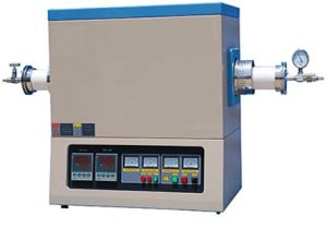 High Temperature Tube Furnace with 60mm, 80mm, 100mm Tube & Vacuum Flanges (JZ-T1700 Series) pictures & photos