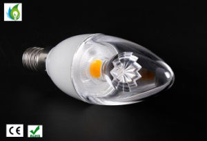 E12 E14 Epistar Candle Light 4W LED candle Bulbs 100-240V and 3 Years Warranty pictures & photos