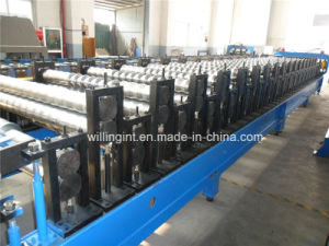 High Speed Wall Roof Dual Level Metal Roll Forming Machine pictures & photos