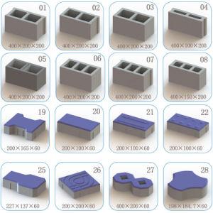 Qt4-15c Fully Automatic Color Paver Brick Block Making Machine pictures & photos