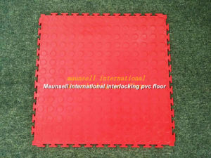 High Quality Interlocking PVC Flooring in Piece Easy to Install pictures & photos