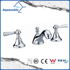 Modern Double Handle Bathroom Faucet (AF3002-6A) pictures & photos