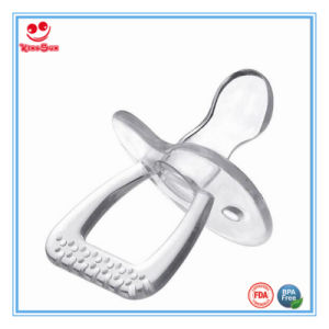 Pure Silicone Pacifier Toy for Newborn Baby Sucking pictures & photos