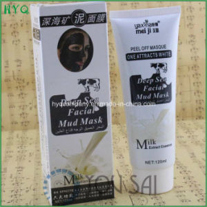Meiji 120ml Deep Sea Mineral Mud Facial Mask Peel off Masque with Milk Extract Essence pictures & photos