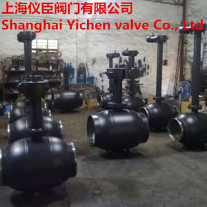 Extended Stem Fully Welded Gas Ball Valve pictures & photos