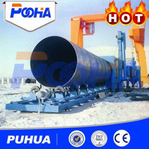 Ce Certified Shot Blasting Machine for cleaning Steel Pipe Outwall pictures & photos