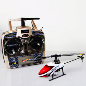 Single Blade 2.4G 6CH Flybarless RC Model Helicopter with Mems Gyro (6G/3D Modes 2 in 1)