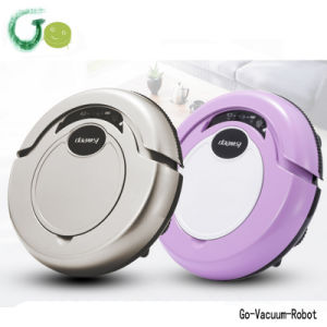 Smart Light Vacuum Cleaner Robot Dry Mop Cleaner for Home, Office, Hotel Cleaning Machine S320 pictures & photos