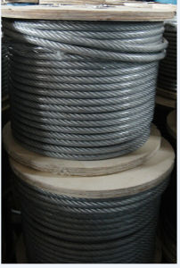 Steel Rope 6X7+FC with UV-Resistant PVC Coated pictures & photos