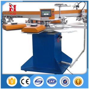 Round Shape Automatic Screen Printing Machine with Single Color pictures & photos