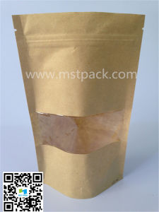300 G Powder Kraft Paper Packaging Bag pictures & photos