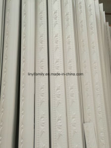 Pure Natural Plaster Cornice with Reinforced Glass Fiber Made by Machine pictures & photos