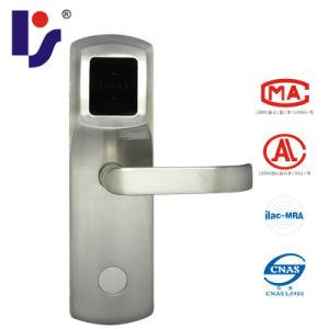 RF/Mifare 1 Card Smart Hotel Lock (RX718E-Y-Zinc)