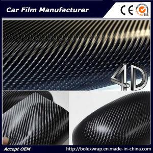4D Carbon Fiber Vinyl Rolls Car Vinyl Film pictures & photos