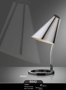 Modern High Quality Polished Chrome Working Table Lamps pictures & photos