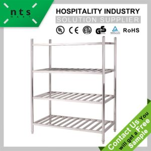 Stainless Steel Storage Rack (Ladder type) Work Table pictures & photos