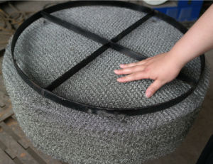 Gas-Liquid Wire Mesh Demister/Demister Pad/Mist Eliminator/Knitted Wire Mesh Demister pictures & photos